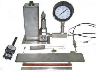 Flatjacks testing equipment
