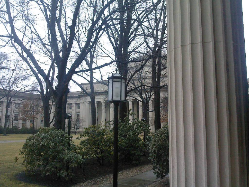 Massachusetts Institute of Technology – Main Group Bldg No. 2, ca. 1916, Cambridge, Massachusetts – William Bosworth, Architect