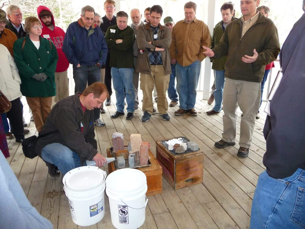 Mt. Vernon Mortar Matters Workshop